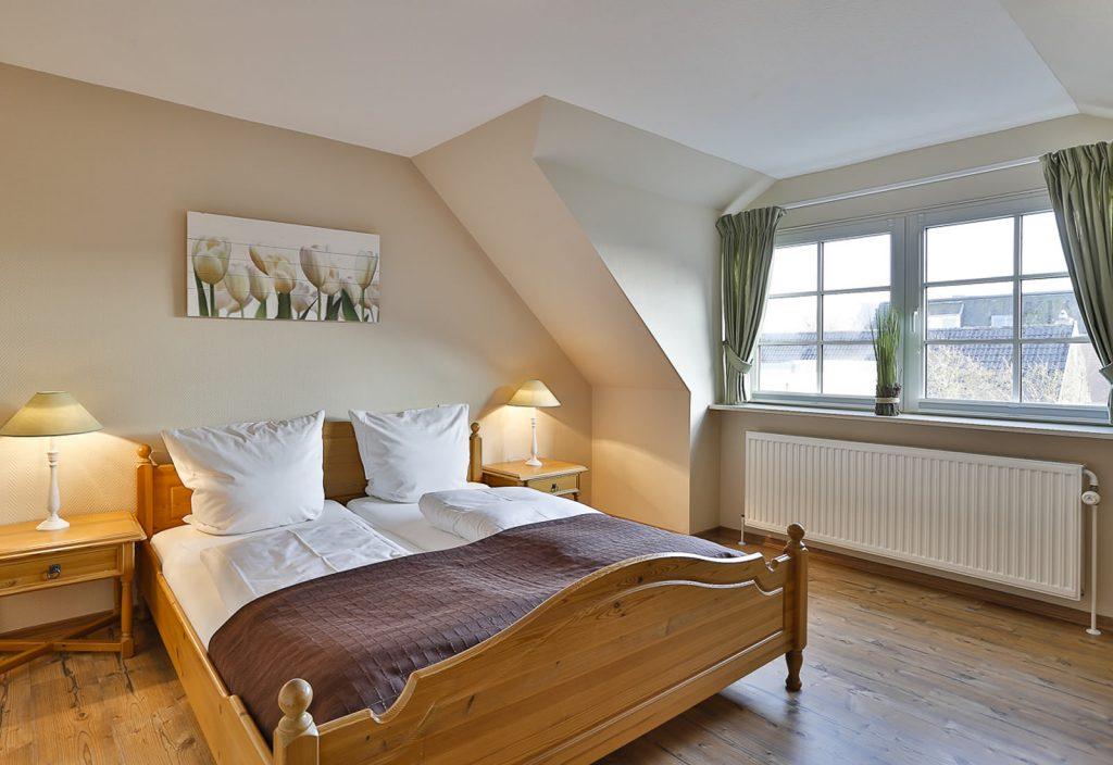 3 Zimmer-Ferienwohnung Blum Sylt Schlafzimmer