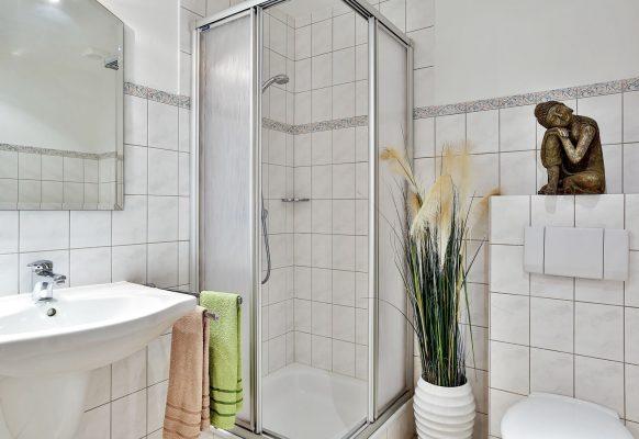 2 Zimmer Ferienwohnung Blum Sylt WC