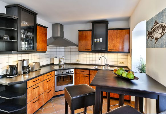 3 Zimmer Ferienwohnung Sylt Küche
