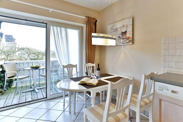 Strandnahe Apartements Sylt Südbalkon
