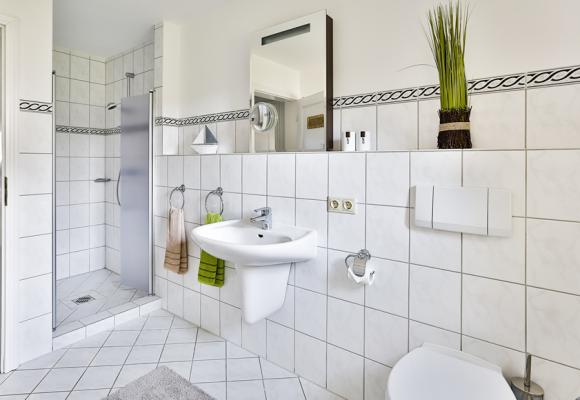 3 Zimmer Ferienwohnung Sylt Badezimmer